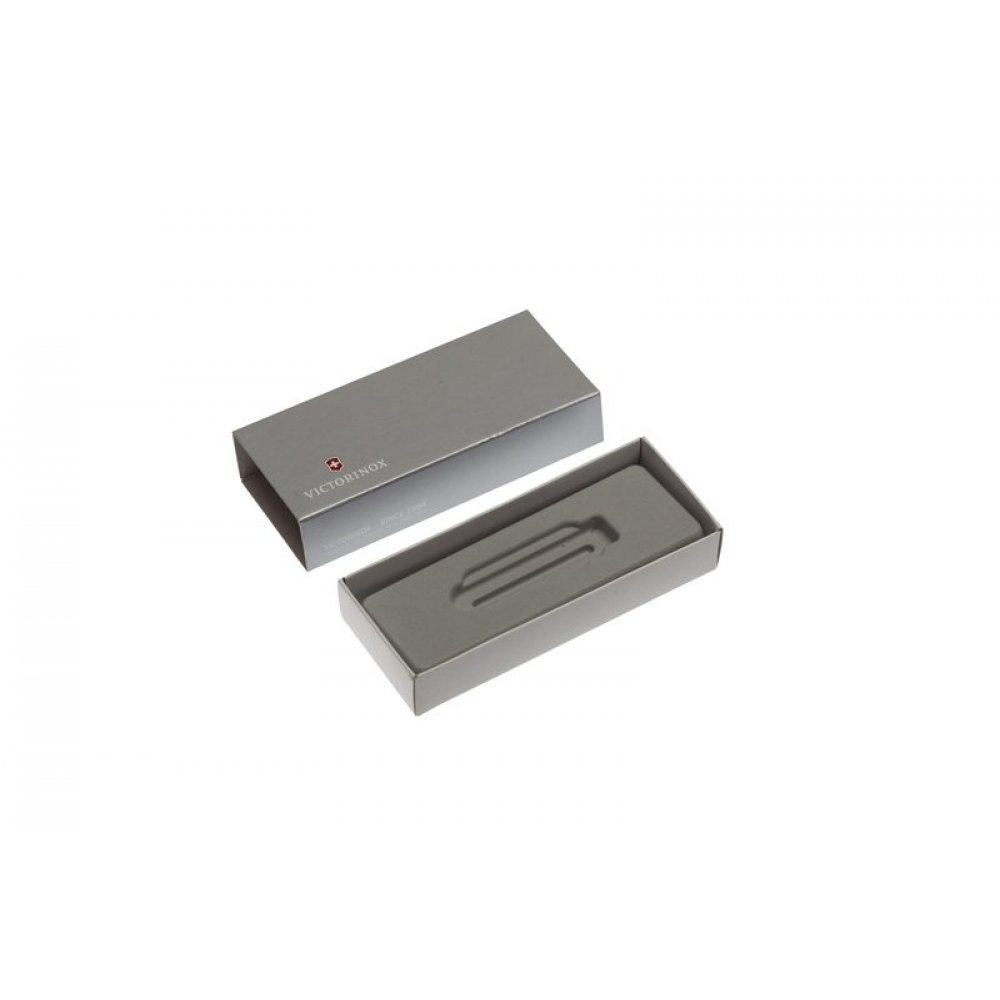 Коробка для ножей VICTORINOX 58 мм толщиной 2 и более уровней (MiniChamp), картонная, серебристая 4.0063.07
