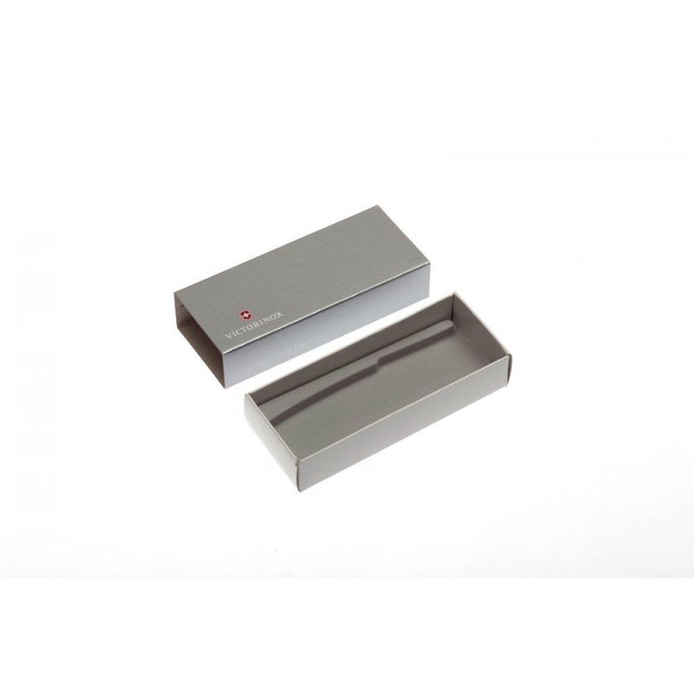 Коробка для ножей VICTORINOX 111 мм толщиной до 4 уровней, картонная, серебристая 4.0090