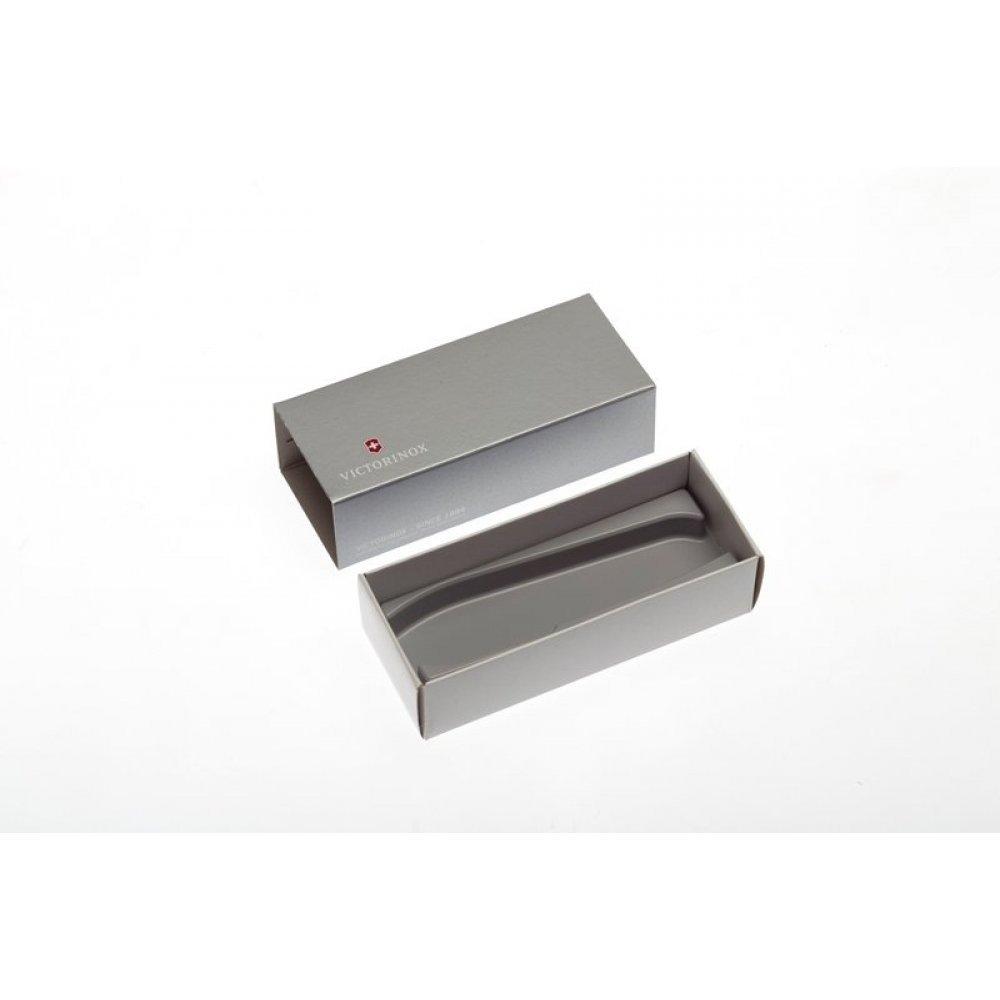 Коробка для ножей VICTORINOX 111 мм толщиной до 6 уровней, картонная, серебристая 4.0091