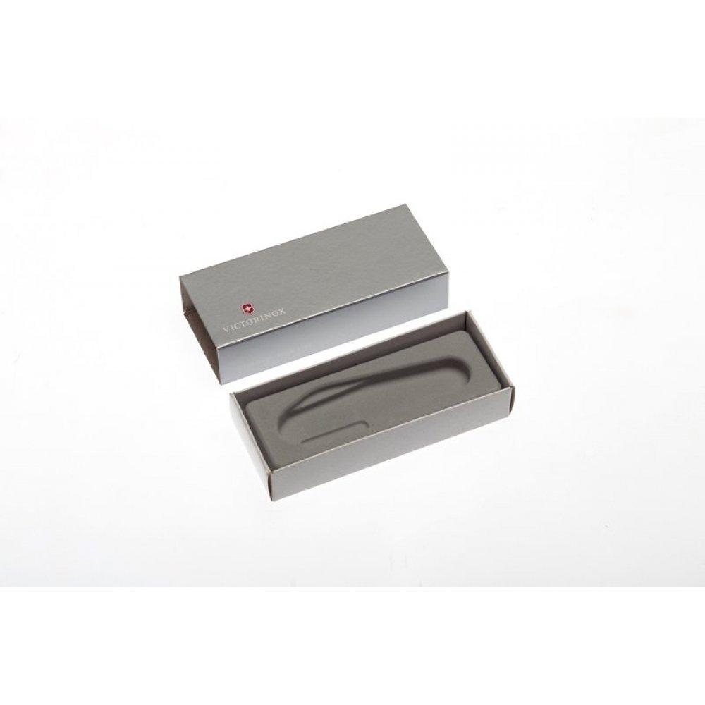 Коробка для ножей VICTORINOX 91 мм толщиной 4-5 уровней, картонная, серебристая 4.0140.07