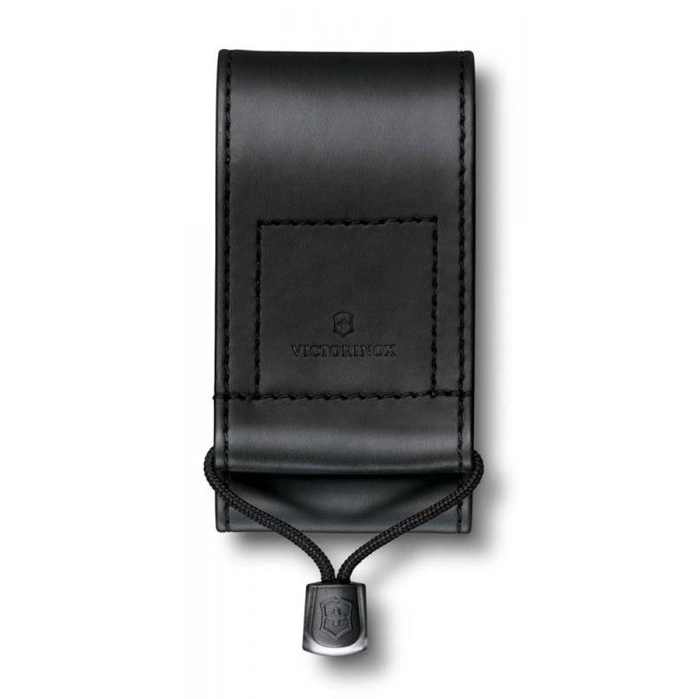 Чехол на ремень VICTORINOX для ножей 91 мм и 93 мм толщиной 5-8 уровней, из кожзаменителя, чёрный 4.0481.3