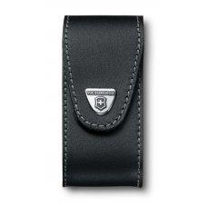 Чехол на ремень VICTORINOX для ножа 111 мм WorkChamp XL (0.9064.XL), кожаный, чёрный 4.0524.XL
