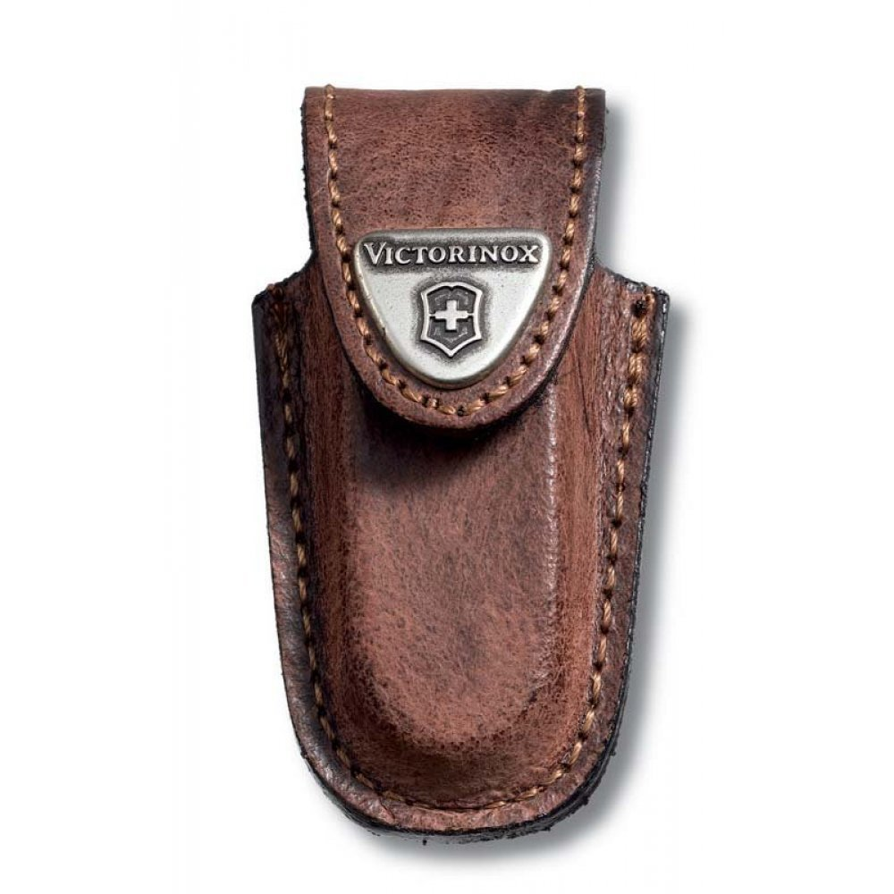 Чехол на ремень VICTORINOX для ножей-брелоков 58 мм, кожаный, коричневый 4.0532