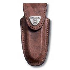 Чехол на ремень VICTORINOX для ножей 91 мм толщиной 2-4 уровня, кожаный, коричневый 4.0533