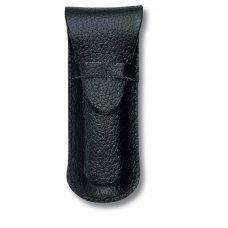 Чехол VICTORINOX для ножей-брелоков 58 мм толщиной 2-3 уровня, кожаный, чёрный