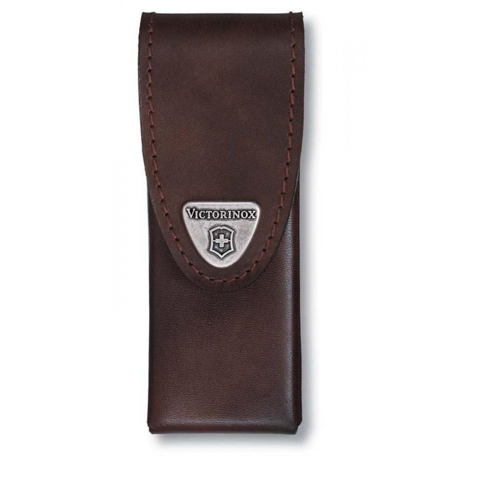 Чехол на ремень VICTORINOX для мультитулов SwissTool Spirit, кожаный, коричневый 4.0822.L