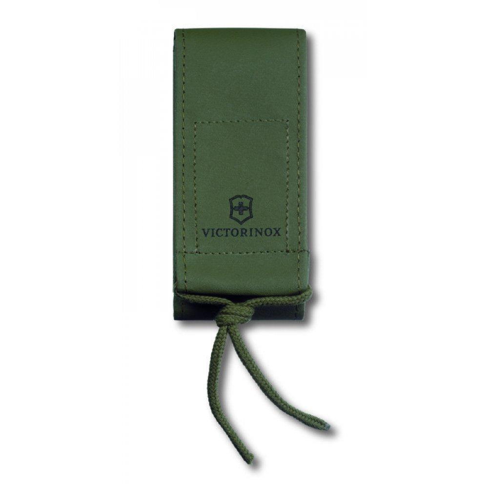Чехол на ремень VICTORINOX для ножей 130 мм из искуственной кожи, зелёный 4.0837.4