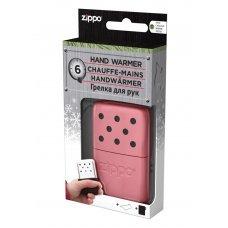 Каталитическая грелка ZIPPO, алюминий с покрытием Pink, розовая, матовая, на 6 ч, 51x15x74 мм 40363