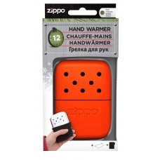 Каталитическая грелка ZIPPO, алюминий с покрытием Blaze Orange, оранжевая, на 12 ч, 66x13x99 мм 40378