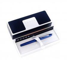 Шариковая ручка Cross Century II. Цвет - синий матовый. 412WG-24