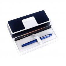 Перьевая ручка Cross Century II. Цвет - синий матовый. 419-24MS
