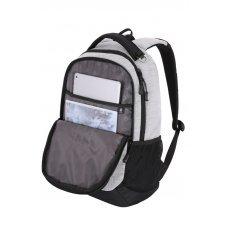 Рюкзак WENGER 15, светло-серый, ткань Grey Heather/М2 добби, 34.3x17.8x47 см, 26 л 5505402419