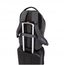 Рюкзак WENGER 15, серый, полиэстер 900D/рипстоп, 31x19x48см, 28л 5658444410