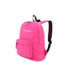 Рюкзак SWISSGEAR складной, розовый, полиэстер, 33.5х15.5x40 см, 21 л 5675808422