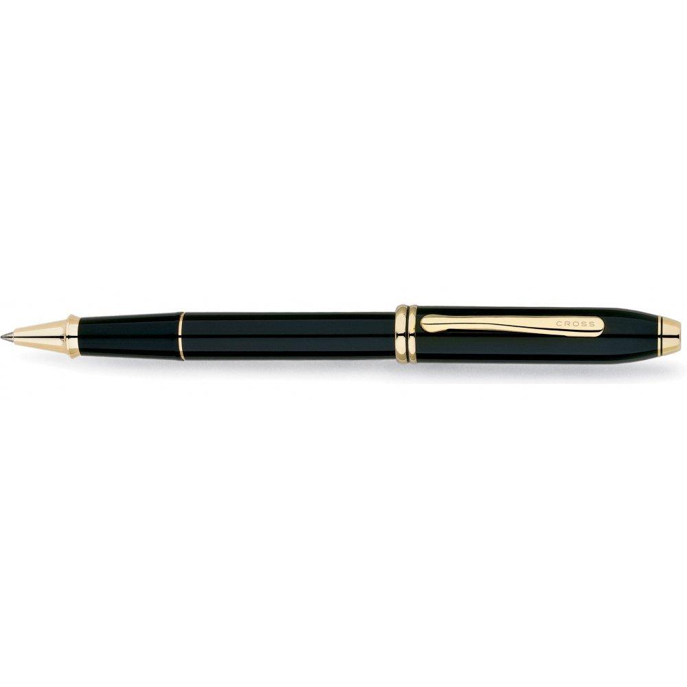 Ручка-роллер Selectip Cross Townsend. Цвет - черный. 575