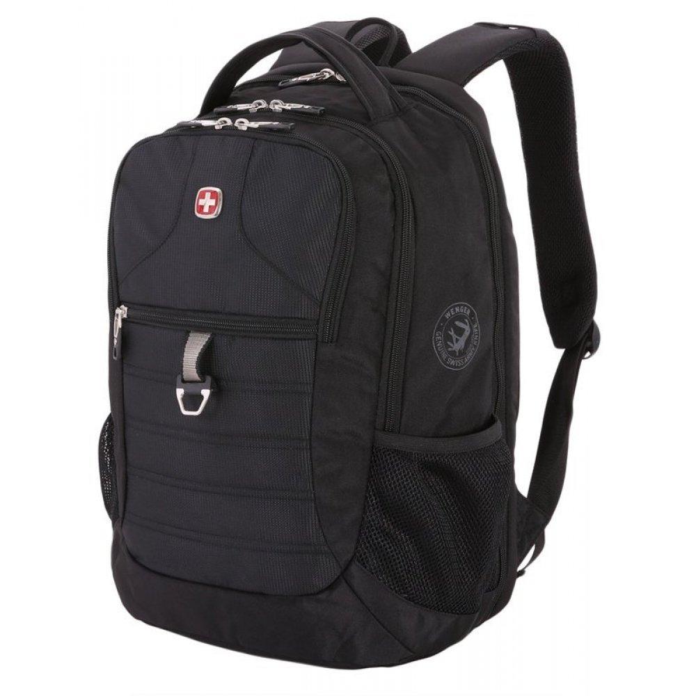 Рюкзак WENGER 15, черный, полиэстер 600D PU , 34х19х46 см, 29 л 5888202423