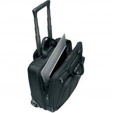 Мобильный офис VICTORINOX VX One Briefcase 15.6', чёрный, нейлон 1000D/кожа, 42x21x40 см, 35 л