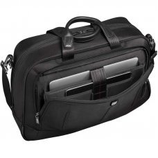 Бизнес-сумка VICTORINOX VX One Business Duffel 15.6'', чёрная, нейлон 1000D/кожа, 54x20x34 см, 37 л