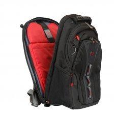 Рюкзак WENGER 16, черный/серый, полиэстер/ПВХ, 35 x 25 x 45 см, 21 л 600631