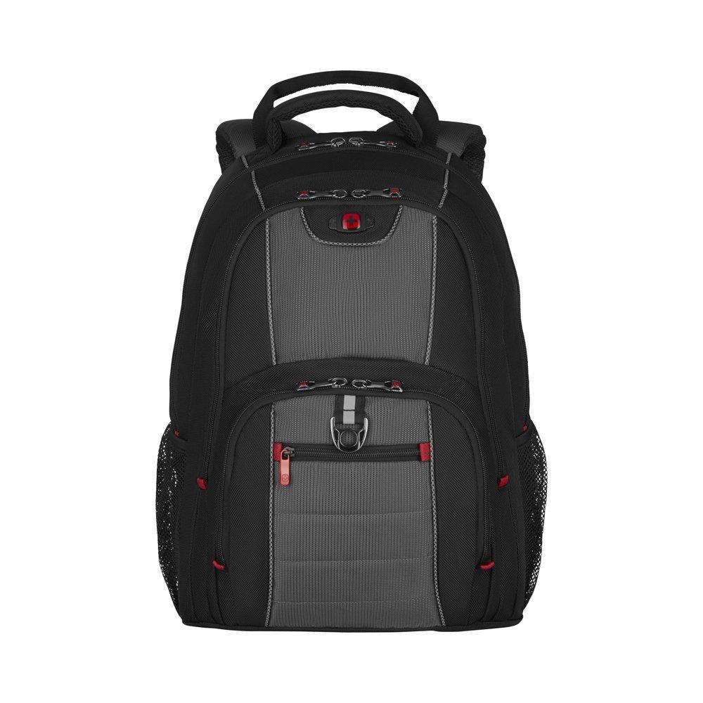 Рюкзак WENGER 16, черный/серый, полиэстер, 38 x 25 x 48 см, 25 л 600633