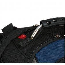 Рюкзак WENGER 17, черный/синий, полиэстер/ПВХ, 37 x 26 x 47 см, 23 л 600638