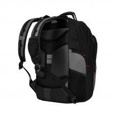 Рюкзак WENGER 17, черный/серый, полиэстер, 37 x 24 x 48 см, 25 л 600639