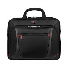 Портфель для ноутбука 15 WENGER, черный, полиэстер/ПВХ, 40 x 15 x 33 см, 9 л 600643