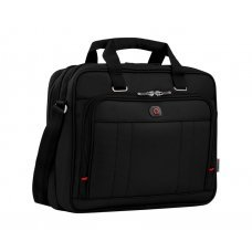 Портфель для ноутбука 16 WENGER, черный, полиэстер / ПВХ, 41 x 15 x 34 см, 12 л 600645