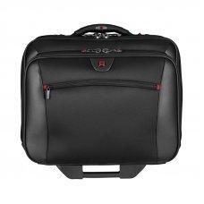 Мобильный офис WENGER с чехлом ддя ноутбука 15.4, черный, полиэстер/винил 44х25х42 см, 23 л 600661