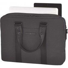Портфель VICTORINOX Architecture Urban Bodmer 14'', серый, ткань Nüwa®/кожа, 38x10x31 см, 11 л