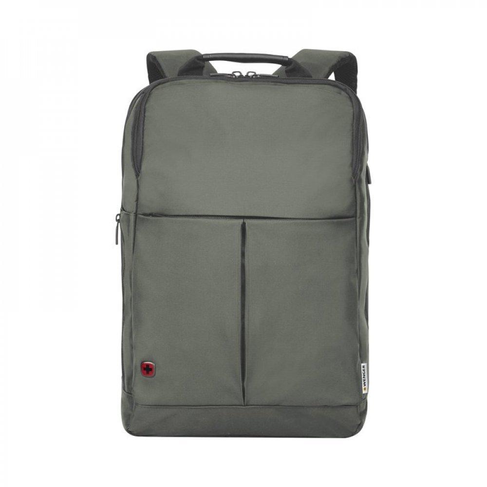 Рюкзак для ноутбука 14 WENGER, серый, нейлон/полиэстер, 28 x 17 x 42 см, 11 л 601069