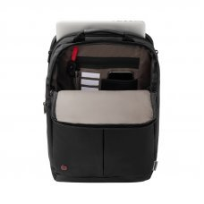 Рюкзак для ноутбука 16 WENGER, черный, нейлон/полиэстер, 31 x 18 x 44 см, 16 л 601070