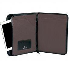 Папка для планшета VICTORINOX Lexicon Professional Reforma, с блокнотом, чёрная, нейлон, 28x3x35 см