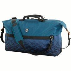 Дорожная сумка VICTORINOX VX Touring, Duffel, Dark Teal, синяя, ткани VX4 и VXTek, 51x23x29 см, 35 л