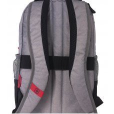 Рюкзак для ноутбука 14 WENGER, серый, нейлон/полиэстер, 29 x 24 x 43 см, 20 л 602656