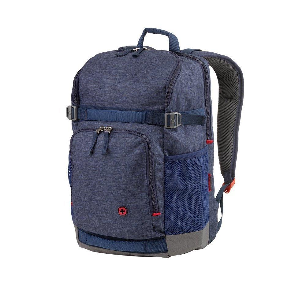 Рюкзак для ноутбука 16 WENGER, синий, полиэстер, 30 x 25 x 45 см, 24 л 602657