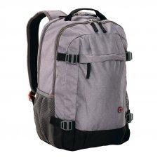 Рюкзак для ноутбука 16 WENGER, серый, полиэстер, 33 x 28 x 46 см, 28 л 602658