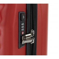 Чемодан WENGER Lumen, красный, поликарбонат, 40 x 20 x 55 см, 32 л 604337