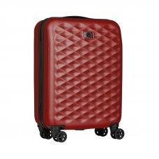 Чемодан WENGER Lumen, красный, поликарбонат, 47 x 26 x 64 см, 61 л 604340