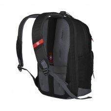 Рюкзак WENGER 16, черный, полиэстер/нейлон, 32 x 23 x 45 см, 21 л 604970