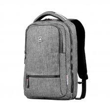 Рюкзак WENGER 14, темно-серый, полиэстер, 26 x 19 x 41 см, 14 л 605023