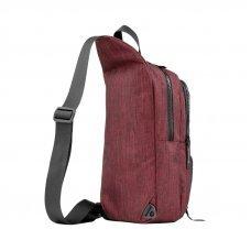 Рюкзак WENGER с одним плечевым ремнем, бордовый, полиэстер, 19 х 12 х 33 см, 8 л 605030