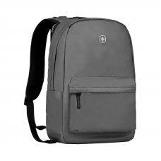Рюкзак WENGER 14, серый, полиэстер, 28 x 22 x 41 см, 18 л 605033