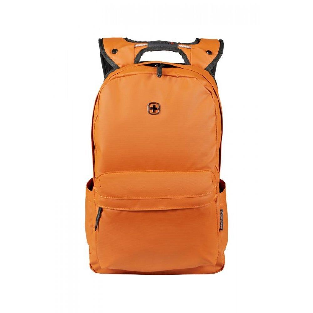 Рюкзак WENGER 14, оранжевый, полиэстер, 28 x 22 x 41 см, 18 л 605095