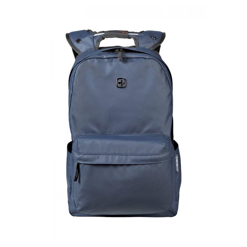 Рюкзак WENGER 14, синий, полиэстер, 28 x 22 x 41 см, 18 л 605096