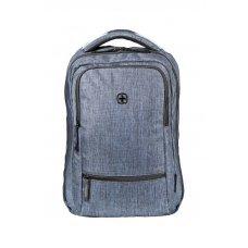 Рюкзак WENGER 14, синий, полиэстер, 26 x 19 x 41 см, 14 л 605200