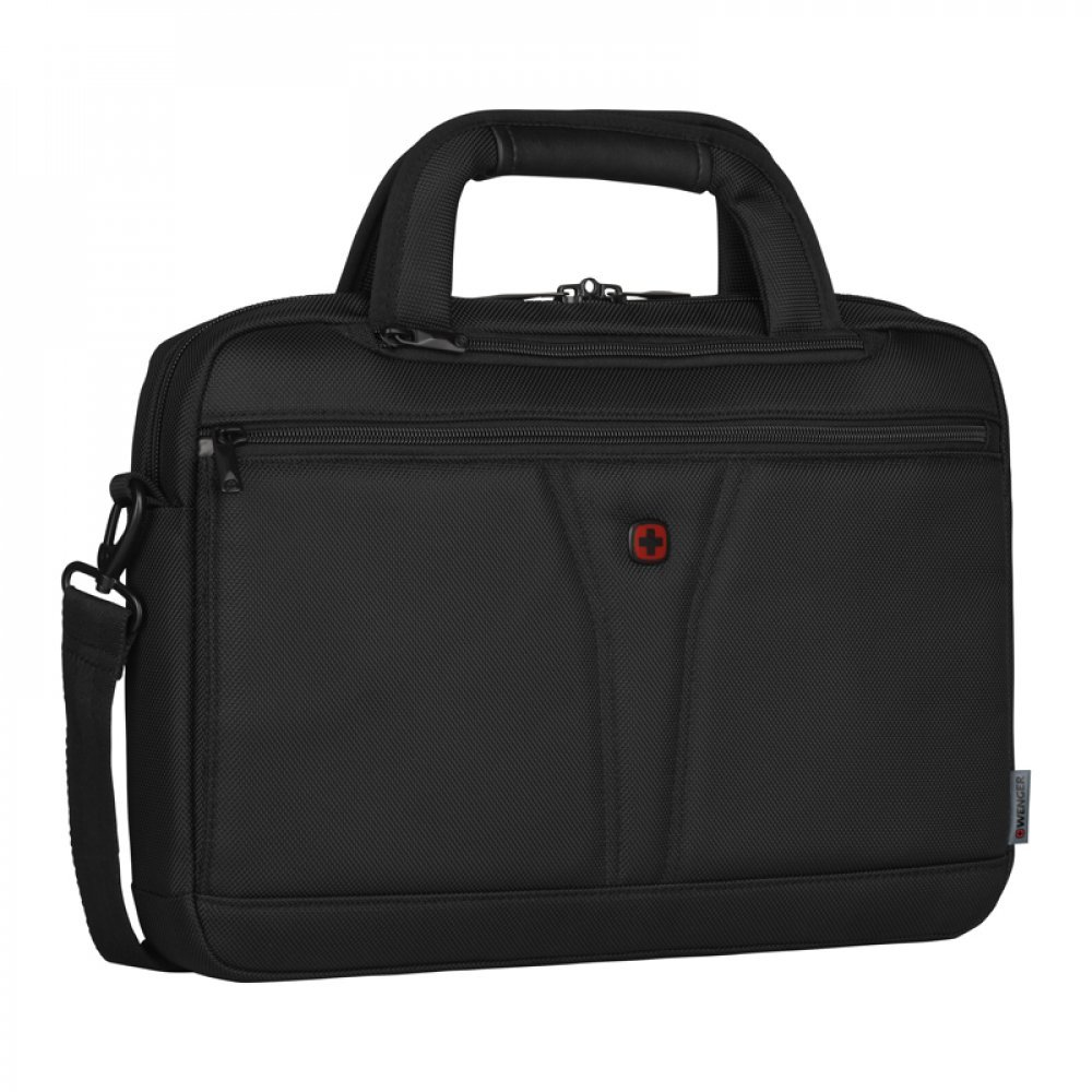 Чехол WENGER для ноутбука 14, черный, баллистический нейлон, 38 x 10 x 25 см, 8 л 606462