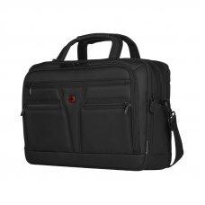 Портфель WENGER для ноутбука 14-16, черный, баллистический нейлон, 41 x 20 x 29 см, 18 л 606465