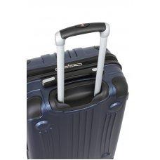 Чемодан WENGER Ridge, цвет синий, АБС-пластик, 42х28х65 см , 60л 6171003167