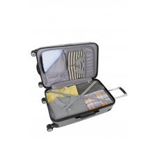Чемодан WENGER Ridge, цвет серебристый,  АБС-пластик, 42х28х65 см , 60л 6171014165